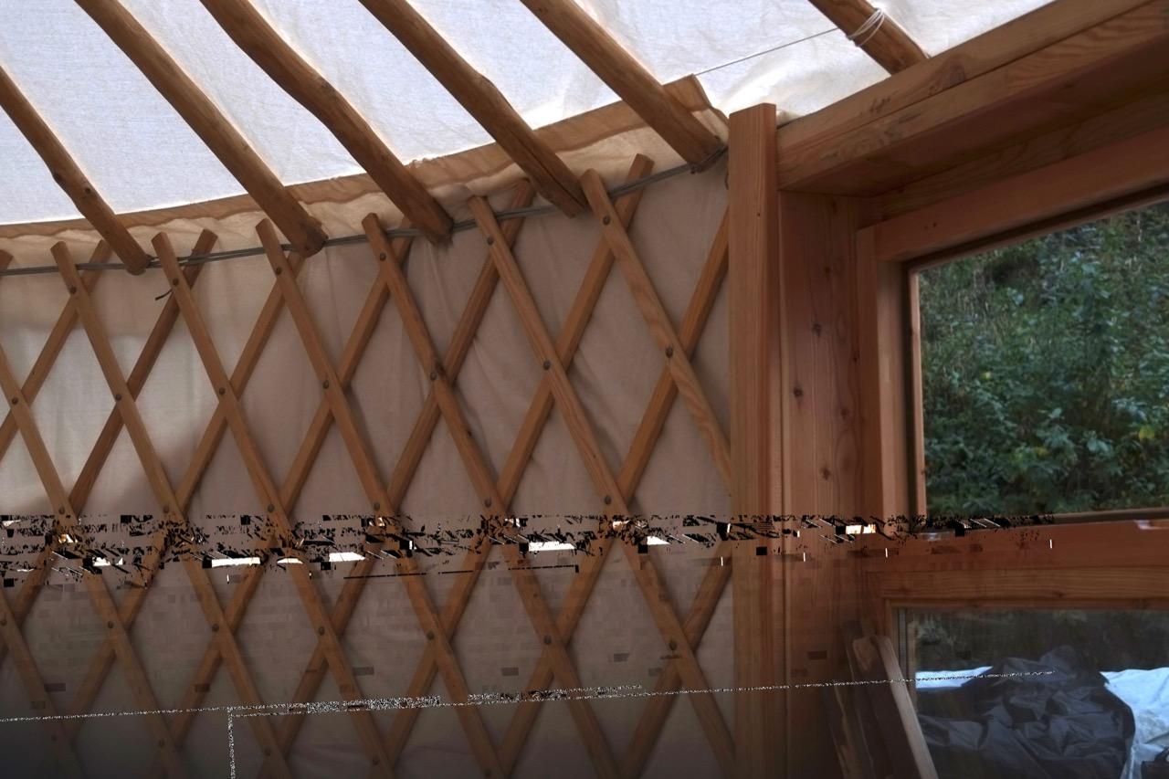 Yurta 5 da riparare o tagliare parte bassa